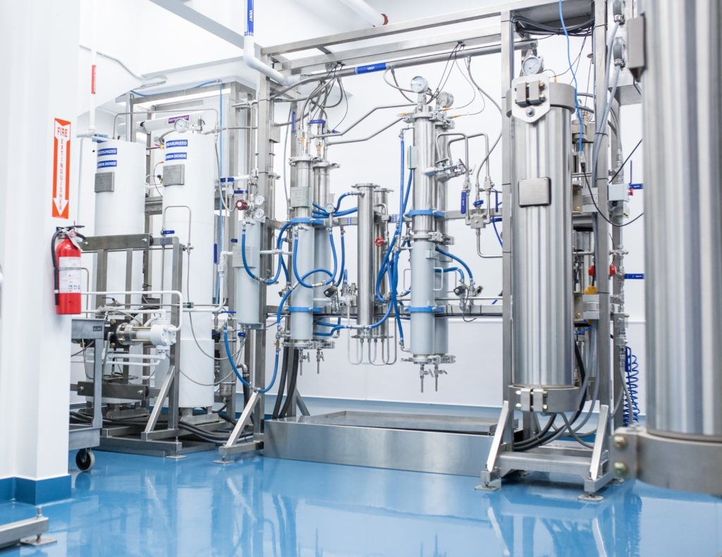 valens extraction facility machinery