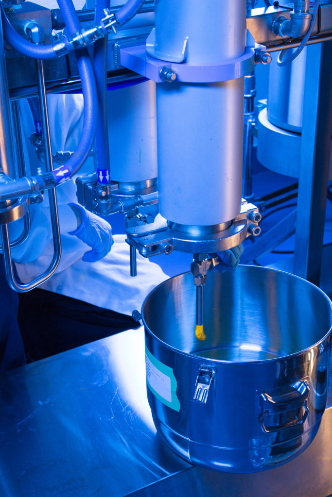 A Cannabis Extraction Run at Valens Agritech